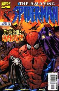 Cover Thumbnail for The Amazing Spider-Man (Marvel, 1963 series) #436 [Direct Edition]
