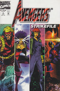 Cover Thumbnail for Avengers Strike File (Marvel, 1994 series) #1 [Direct Edition]