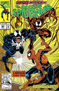 Cover Thumbnail for The Amazing Spider-Man (Marvel, 1963 series) #362 [Direct Edition]