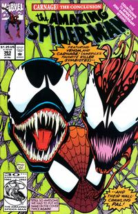 Cover Thumbnail for The Amazing Spider-Man (Marvel, 1963 series) #363 [Direct Edition]