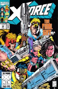 Cover Thumbnail for X-Force (Marvel, 1991 series) #22 [Direct]
