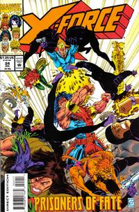 Cover Thumbnail for X-Force (Marvel, 1991 series) #24 [Direct Edition]
