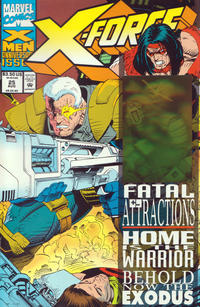 Cover Thumbnail for X-Force (Marvel, 1991 series) #25 [Direct Edition]