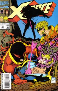 Cover Thumbnail for X-Force (Marvel, 1991 series) #27 [Direct Edition]