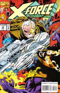 Cover Thumbnail for X-Force (Marvel, 1991 series) #28 [Direct Edition]