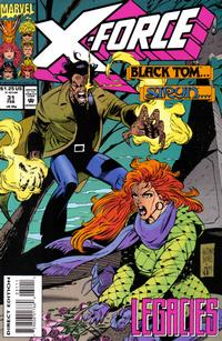 Cover Thumbnail for X-Force (Marvel, 1991 series) #31 [Direct Edition]