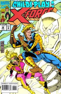 Cover Thumbnail for X-Force (Marvel, 1991 series) #32 [Direct Edition]
