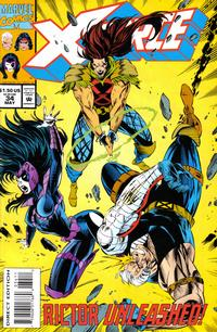 Cover Thumbnail for X-Force (Marvel, 1991 series) #34 [Direct Edition]