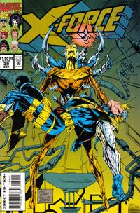 Cover Thumbnail for X-Force (Marvel, 1991 series) #39 [Direct Edition]