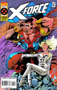 Cover Thumbnail for X-Force (Marvel, 1991 series) #42 [Deluxe Direct Edition]