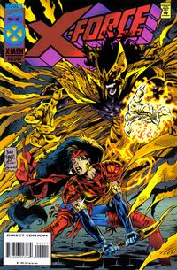 Cover Thumbnail for X-Force (Marvel, 1991 series) #43 [Deluxe Direct Edition]
