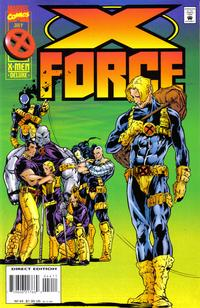Cover Thumbnail for X-Force (Marvel, 1991 series) #44 [Direct Edition]