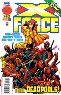Cover Thumbnail for X-Force (Marvel, 1991 series) #56 [Direct Edition]