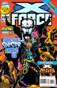 Cover Thumbnail for X-Force (Marvel, 1991 series) #57 [Direct Edition]