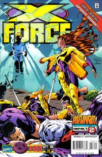 Cover Thumbnail for X-Force (Marvel, 1991 series) #58 [Direct Edition]