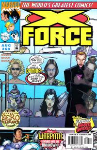 Cover Thumbnail for X-Force (Marvel, 1991 series) #68 [Direct Edition]