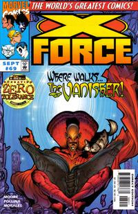 Cover Thumbnail for X-Force (Marvel, 1991 series) #69 [Direct Edition]