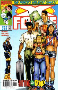 Cover Thumbnail for X-Force (Marvel, 1991 series) #70 [Direct Edition]