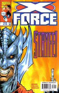 Cover Thumbnail for X-Force (Marvel, 1991 series) #74 [Direct Edition]