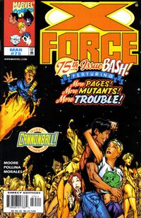 Cover Thumbnail for X-Force (Marvel, 1991 series) #75 [Direct Edition]