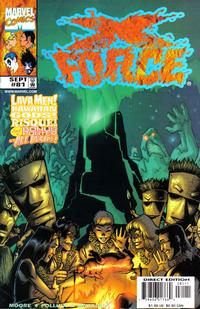 Cover Thumbnail for X-Force (Marvel, 1991 series) #81 [Direct Edition]