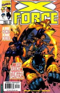 Cover Thumbnail for X-Force (Marvel, 1991 series) #82 [Direct Edition]