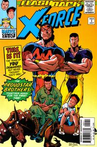 Cover Thumbnail for X-Force (Marvel, 1991 series) #-1 [Direct Edition]