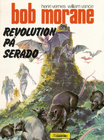 Cover for Bob Morane (Semic, 1979 series) #[1] - Revolution på Serado