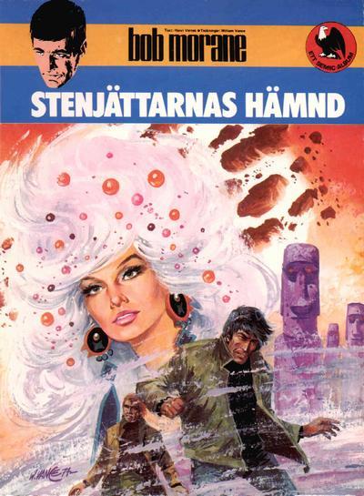 Cover for Bob Morane (Semic, 1979 series) #4 - Stenjättarnas hämnd