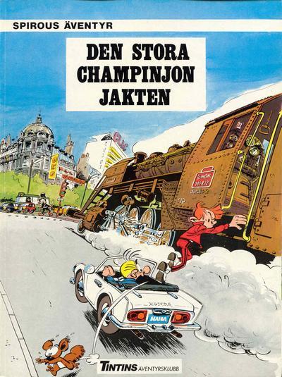 Cover for Spirous äventyr (Nordisk bok, 1984 series) #[4290] - Den stora champinjonjakten