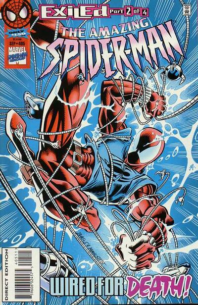 Cover for The Amazing Spider-Man (Marvel, 1963 series) #405 [Direct Edition]