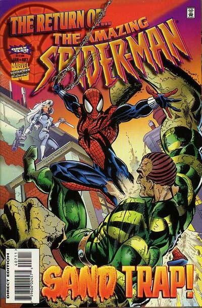 Cover for The Amazing Spider-Man (Marvel, 1963 series) #407 [Direct Edition]