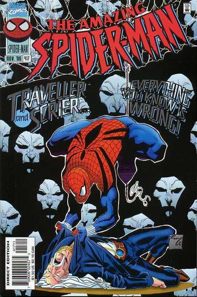 Cover for The Amazing Spider-Man (Marvel, 1963 series) #417 [Direct Edition]