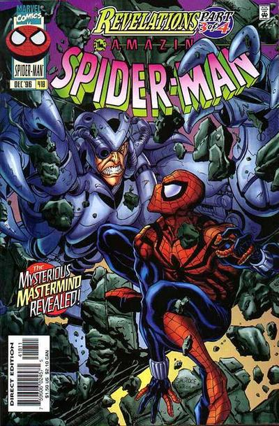 Cover for The Amazing Spider-Man (Marvel, 1963 series) #418 [Direct Edition]