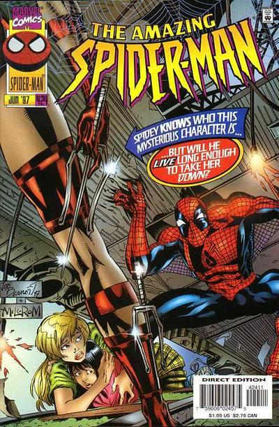 Cover for The Amazing Spider-Man (Marvel, 1963 series) #424 [Newsstand]