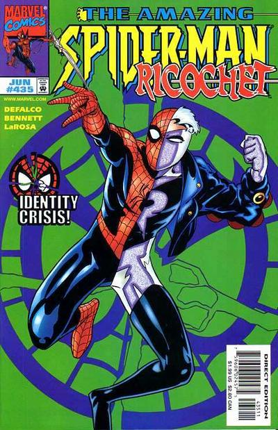 Cover for The Amazing Spider-Man (Marvel, 1963 series) #435 [Direct Edition]