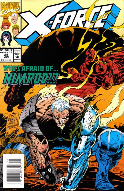 Cover for X-Force (Marvel, 1991 series) #35 [Direct Edition]