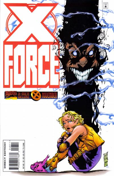Cover for X-Force (Marvel, 1991 series) #48 [Newsstand]