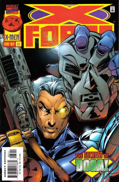 Cover for X-Force (Marvel, 1991 series) #63 [Newsstand]