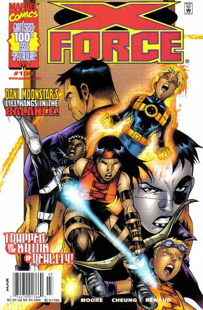 Cover for X-Force (Marvel, 1991 series) #100 [Variant Edition]