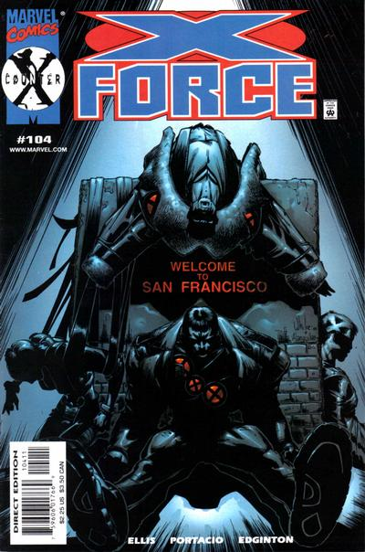 Cover for X-Force (Marvel, 1991 series) #104