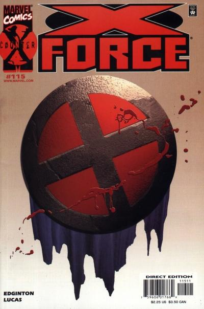 Cover for X-Force (Marvel, 1991 series) #115 [Direct Edition]