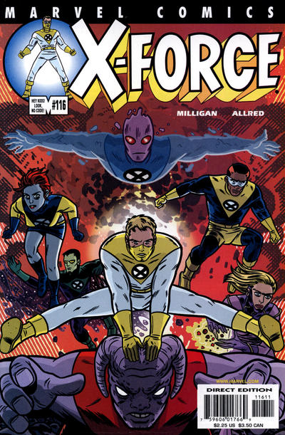 Cover for X-Force (Marvel, 1991 series) #116 [Newsstand]