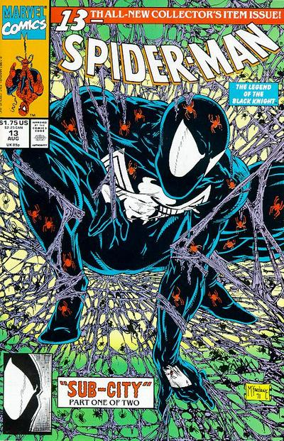 Cover for Spider-Man (Marvel, 1990 series) #13