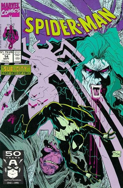 Cover for Spider-Man (Marvel, 1990 series) #14