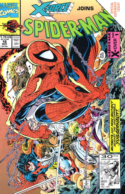 Cover for Spider-Man (Marvel, 1990 series) #16