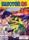 Cover for Sabotør Q5 (Serieforlaget / Se-Bladene / Stabenfeldt, 1971 series) #8/1973