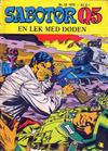 Cover for Sabotør Q5 (Serieforlaget / Se-Bladene / Stabenfeldt, 1971 series) #10/1972