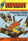 Cover for Superboy (Illustrerte Klassikere / Williams Forlag, 1969 series) #6/1972