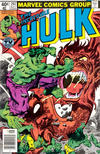 Cover Thumbnail for The Incredible Hulk (1968 series) #247 [Newsstand]